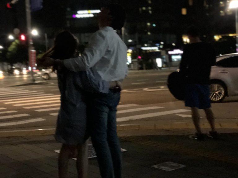 首都ソウルでの調査